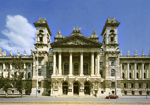 Budapest Ethnographic Museum 