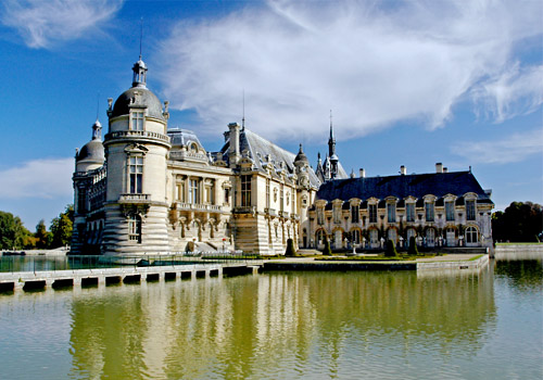 Chéteau de Chantilly in Chantilly, France