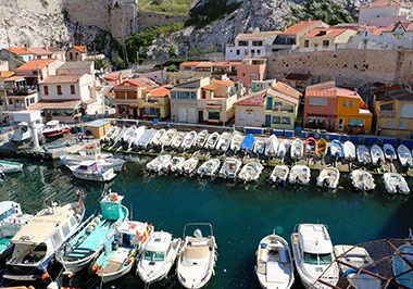 Vallon des Auffes fishing port