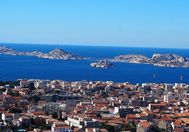Panoramic view of Marseille