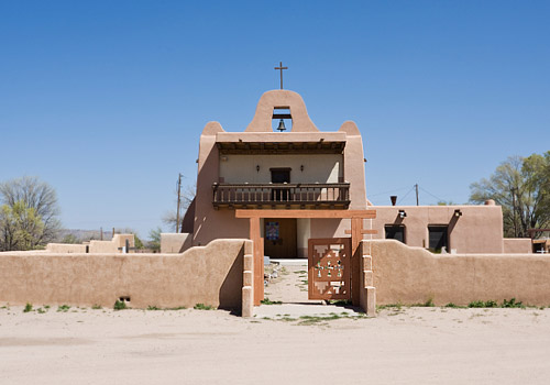 Chapel at San Ildefonso Pueblo