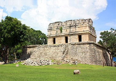 Casa de las Monjas at Chichen Itza