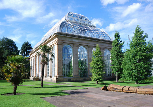 Palm House in the Royal Botanic Gardens