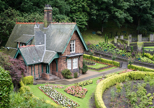 Gingerbread House in Princes Street Gardens