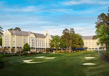 Luxury stay at the Washington Duke Inn & Golf Club