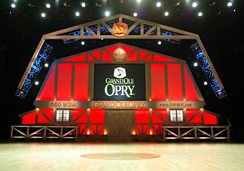 Stage of The Grand Ole Opry 