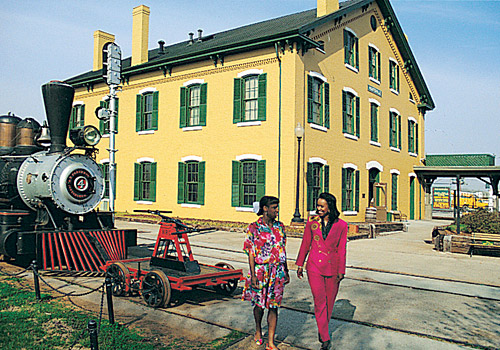 Huntsville Railroad Depot &amp; Museum