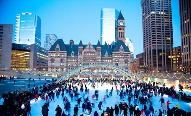 Ice Skating - City Hall