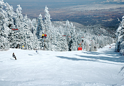 Sandia Peak Ski Area