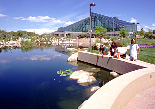 Rio Grande Botanic Garden Conservatory