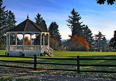 Fort Vancouver Parade Grounds Gazebo