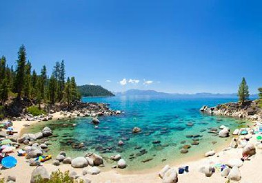 Beachcoming on Lake Tahoe