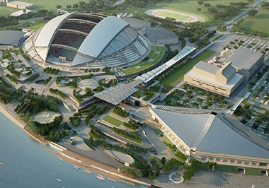 Singapore Sports Hub (Completion:2nd half of 2014)