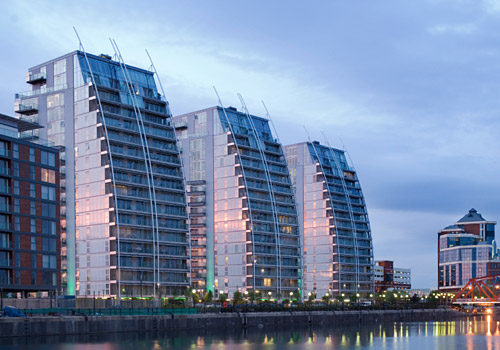 NV Buildings at Salford Quays