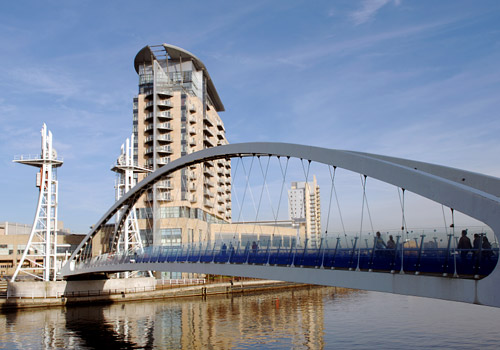 Millennium Lifting Footbridge