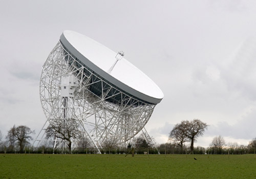 Lovell Telescope at Jodrell Bank Visitor Centre