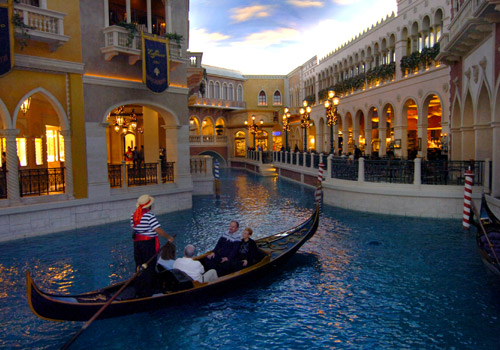 Grand Canal Shops at the Venetian