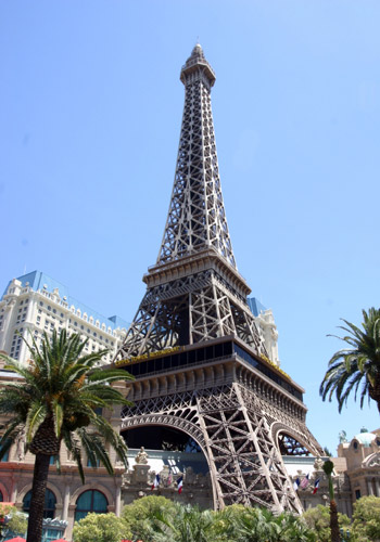The Eiffel Tower, Paris Las Vegas Hotel and Casino