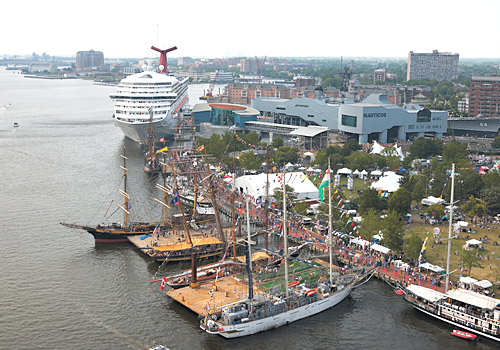 Tall Ships at Town Point Park