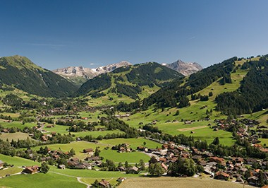 Gstaad Cityscape
