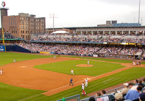 Fifth Third Field, Home of the Toledo Mud Hens
