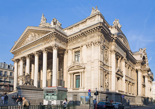 Brussels Stock Exchange Building