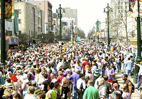 Mardi Gras Canal Street