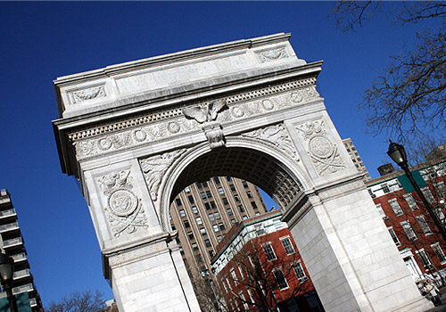 Triumphal Arch in Washington Square