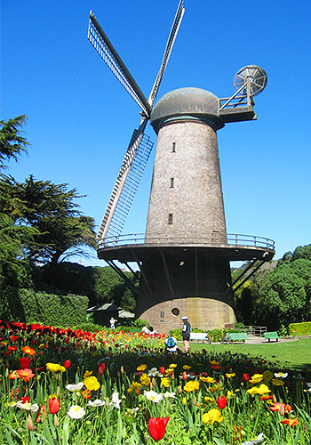 North Windmill at Golden Gate Park