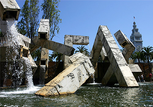 Vaillancourt Fountain at Embarcadero Center