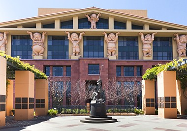 The Walt Disney Company world headquarters