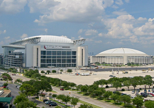 Reliant Stadium and Astrodome