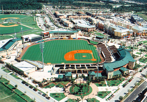 Roger Dean Stadium, Home of the Jupiter Hammerhead