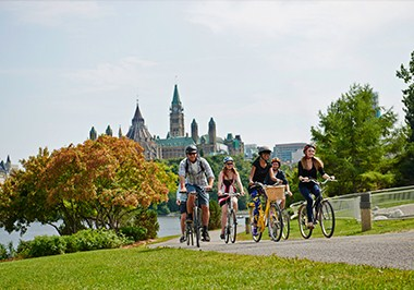 Ottawa Cycling and Parliament