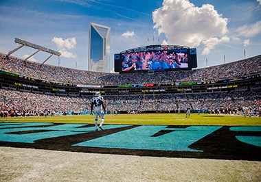 Carolina Panthers at Bank of America Stadium
