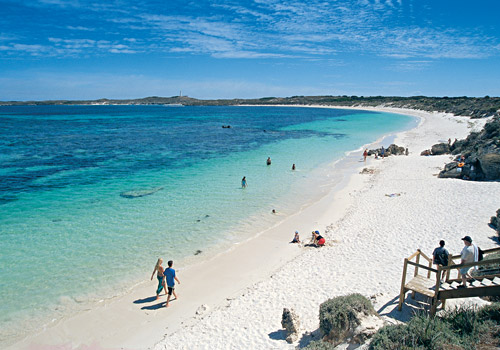 Beach at Salmon Point, Rottnest Island
