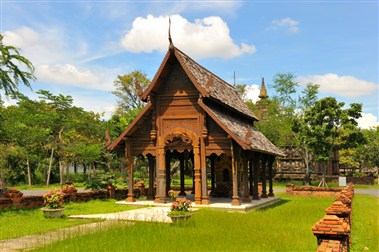 Temple in the Ancient City (Mueang Boran)