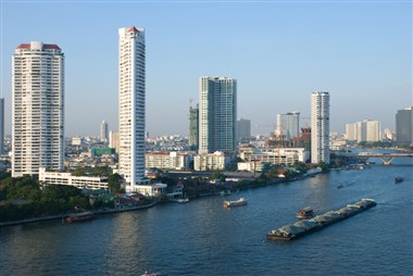 View of the Chao Praya River