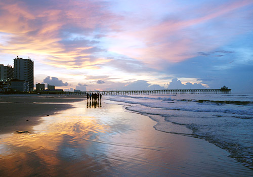 Myrtle Beach State Park Pier at Sunrise