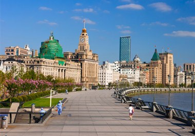 Shanghai Bund Historical Buildings