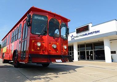 Hop onboard the Arlington Trolley