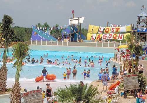 Lost Lagoon Waterpark at SeaWorld San Antonio