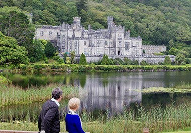 Kylemore Abbey in Connemara Galway