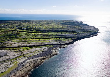 The Aran Islands off the Galway Coast