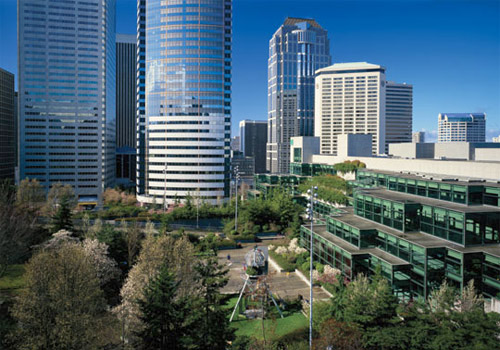 Washington State Convention & Trade Center in Down