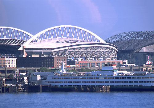 Safeco Stadium and Qwest Field