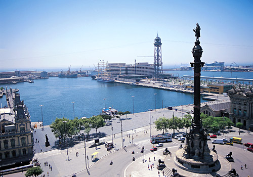 Columbus Monument at Port Vell