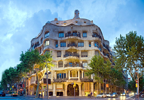 Casa Mila, or La Pedrera