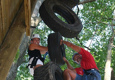 Challenge Course at Liberty Mountain Resort