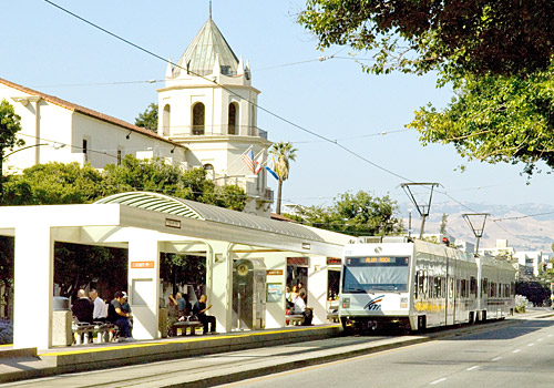 VTA Light Rail, San Jose